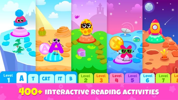 ABC Phonics Kids Reading Games screenshot-0