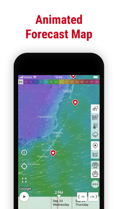 Windfinder: Wind & Weather map Screenshot