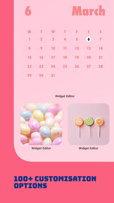 Widget Editor紹介画像2