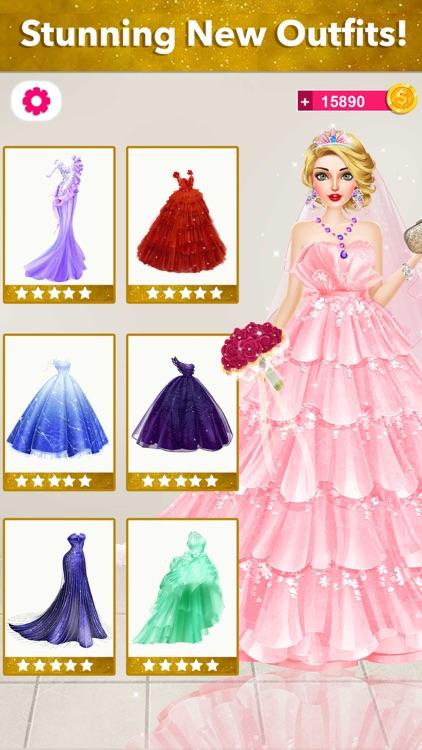 Bride Wedding Fashion Dressup screenshot-4