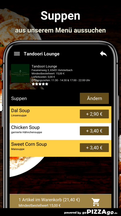 Tandoori Lounge Kelsterbach screenshot 5