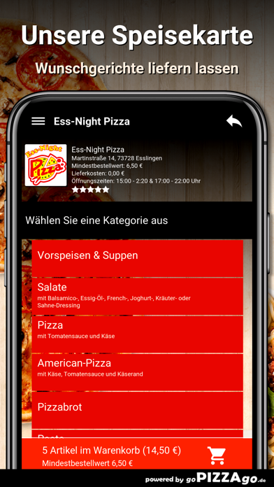 Ess-Night Pizza Esslingen screenshot 4
