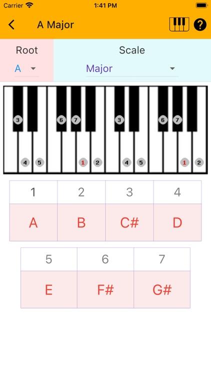 Music Scales screenshot-3