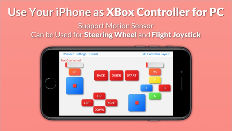 Gamepad Game Controller for PC