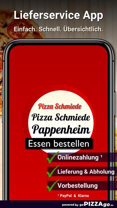 Pizza Schmiede Pappenheim screenshot 1