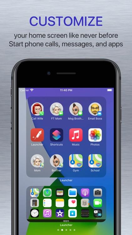 Launcher with Multiple Widgets screenshot-0