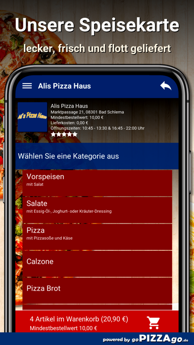 Alis Pizza Haus Bad Schlema screenshot 6