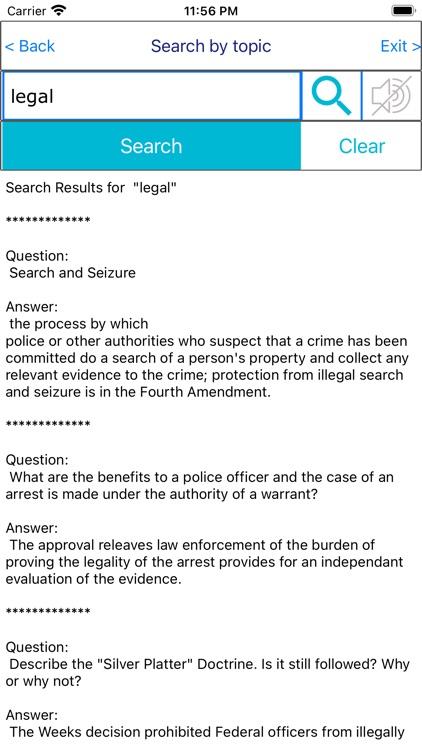 Legal Investigation techniques screenshot-4