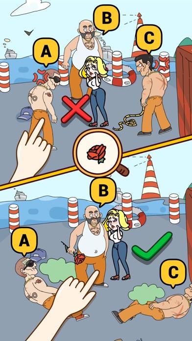 Brain Find Screenshot on iOS
