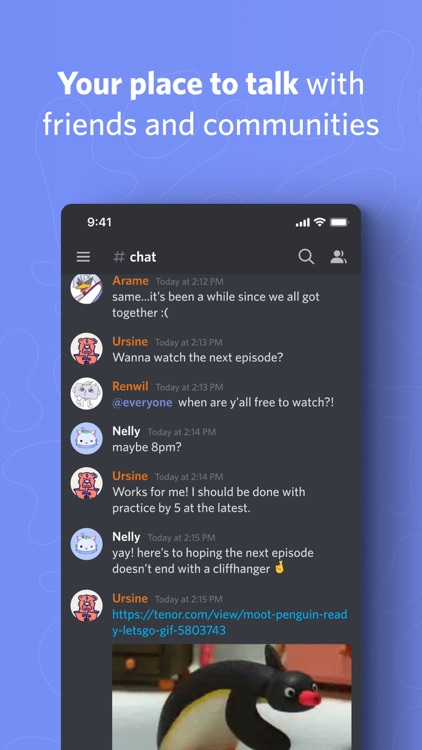 Discord - Talk, Chat, Hang Out screenshot-0