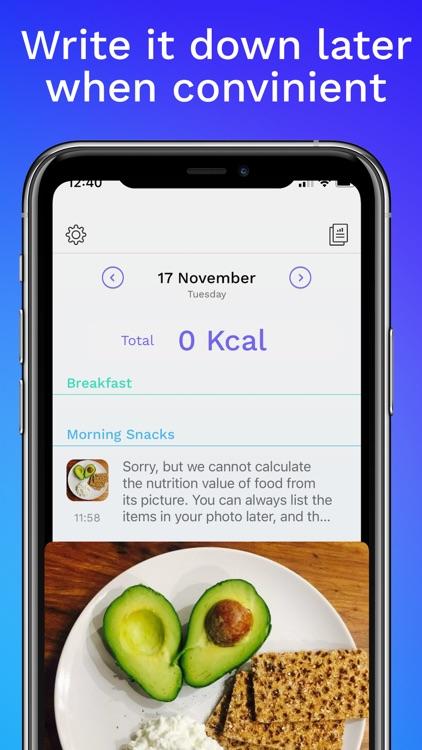 FoodWise Calorie Counter screenshot-3