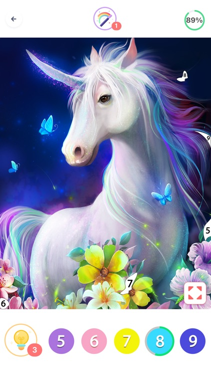 Coloring Fun : Color by Number screenshot-7