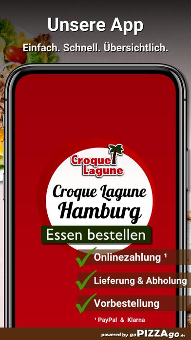 Croque Lagune Hamburg screenshot 1
