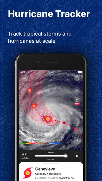 NOAA Weather Radar | Forecast Screenshot