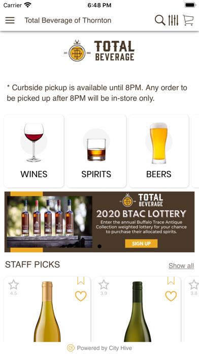 Total Beverage Inc.Screenshot of 2