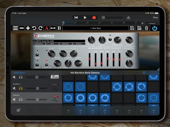 Ipad Screen Shot Blackice Beta Gamma 2
