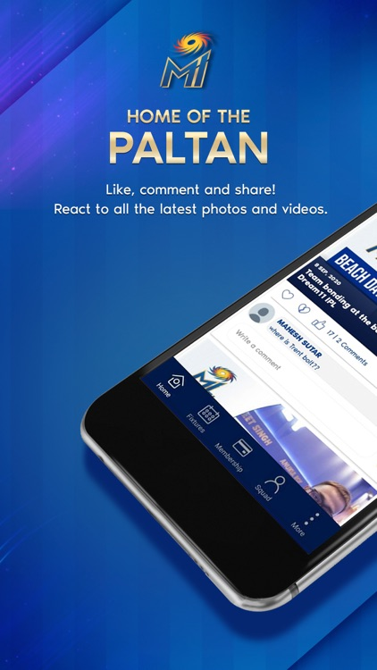 Mumbai Indians Official App