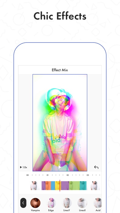 Funimate Video Editor Add Cool Effects To Videos Online App Chart