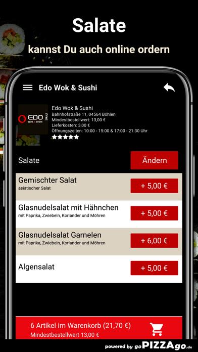 Edo Wok & Sushi Böhlen screenshot 5