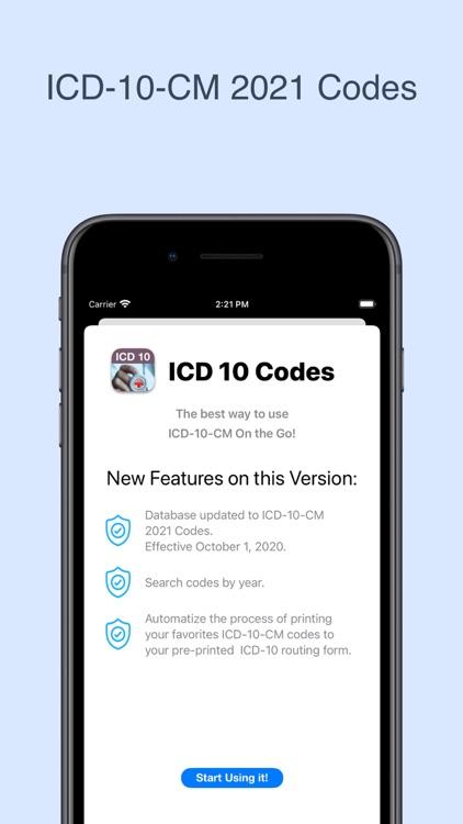 ICD-10 On the Go 2021 screenshot-0