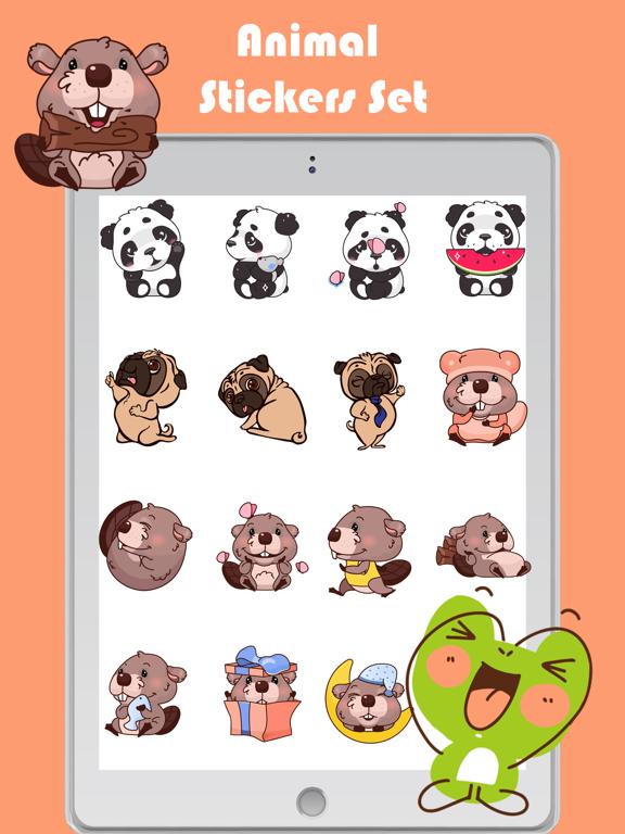 Animal Toon Stickers screenshot 10