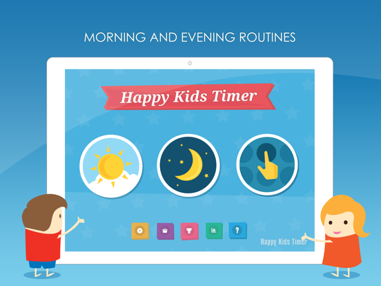 Happy Kids Timer - Morning routines education and motivation app for helping children with daily chore activities. screenshot