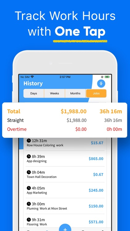 Hours Tracker - Time Tracking