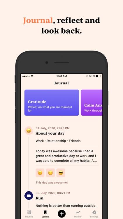 Tangerine: Self-care & Goals screenshot-5