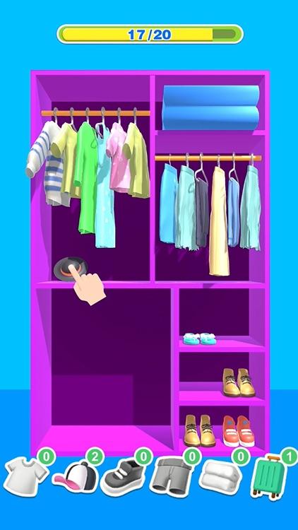 Tidy Clothes 3D screenshot-5
