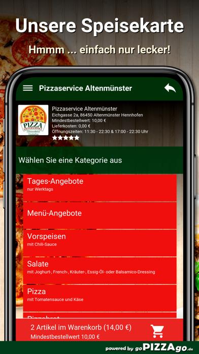 Pizzaservice Altenmünster screenshot 5