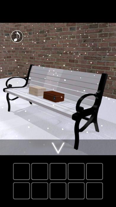 脱出ゲーム 雪降る庭のおすすめ画像2