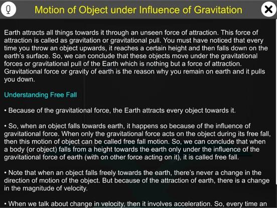 Motion Under Gravity screenshot 7