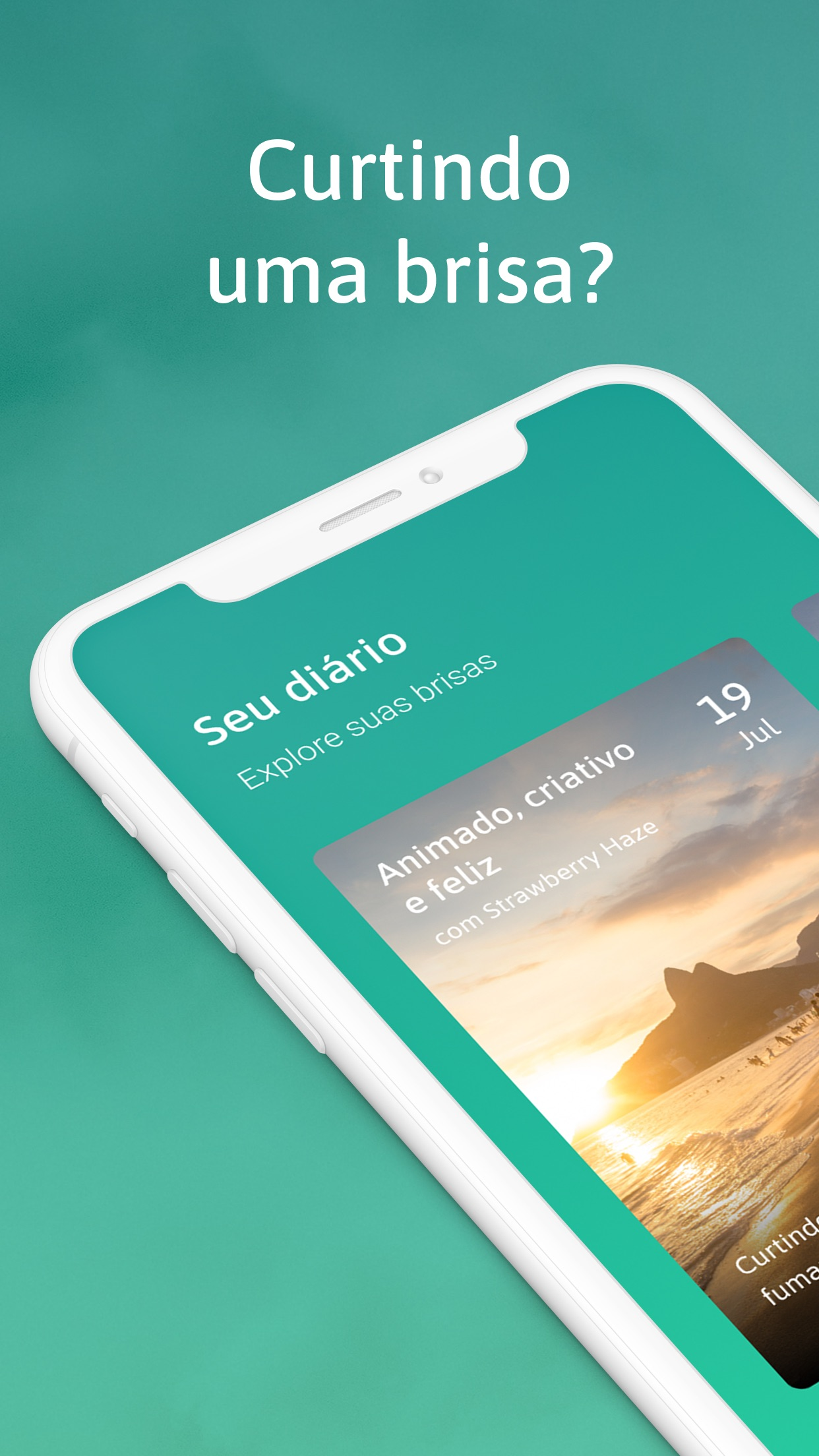 Screenshot do app Highness - Trip Journal