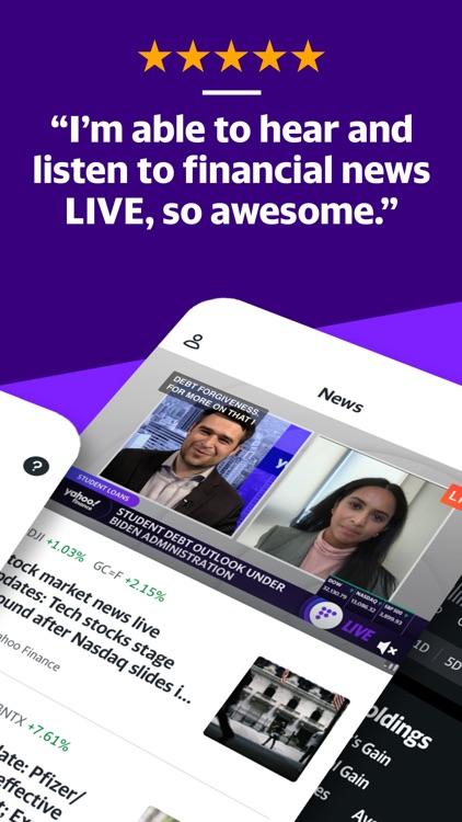 Yahoo Finance screenshot-3