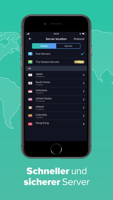 VPN Proxy Master UnbegrenzterScreenshot von 2