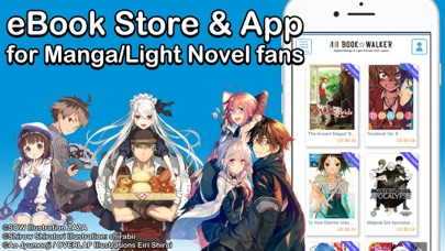 BOOK WALKER – Manga & Novels Screenshot