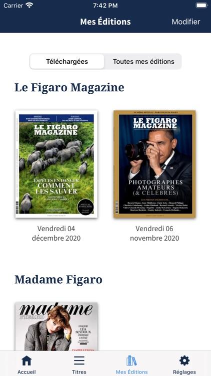 Kiosque Figaro : le Journal screenshot-3