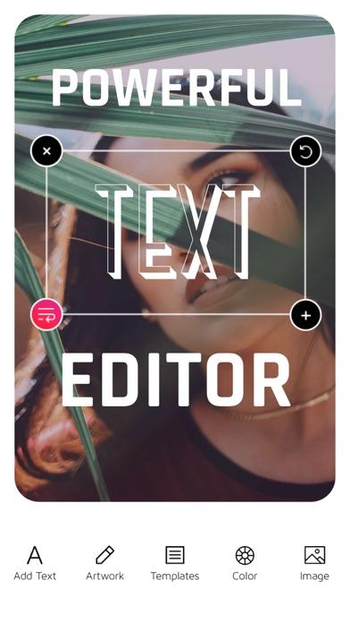 Font Candy Photo & Text Editor Screenshot