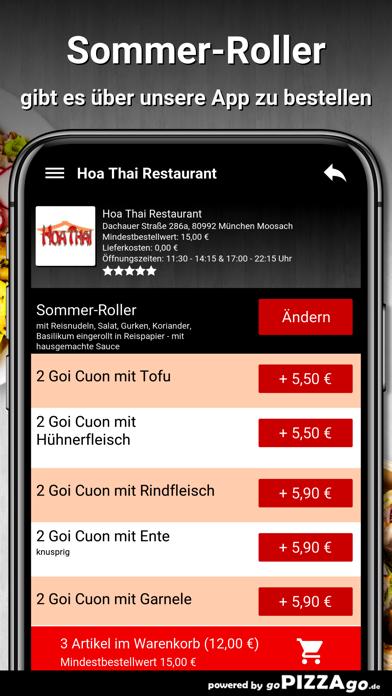 Hoa Thai Restaurant München screenshot 6