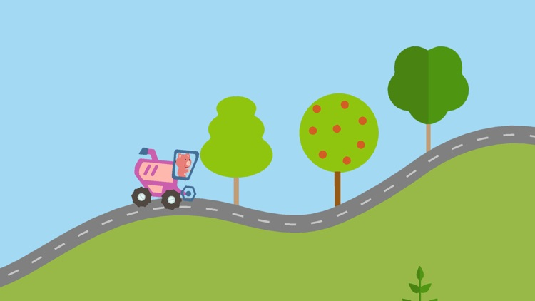 Car game for kids and toddle
