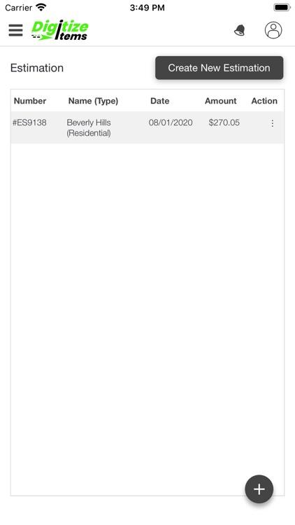 Digitize Items screenshot-5