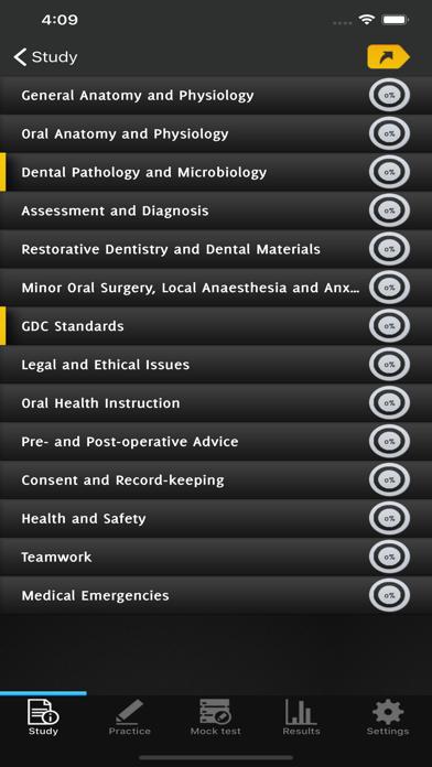 Dental Nurse Revision Question screenshot 3