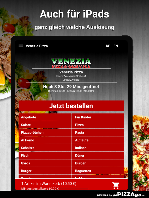 Venezia Pizza Zwickau screenshot 7