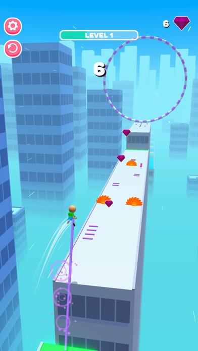 Roof Jumper 3D screenshot 2
