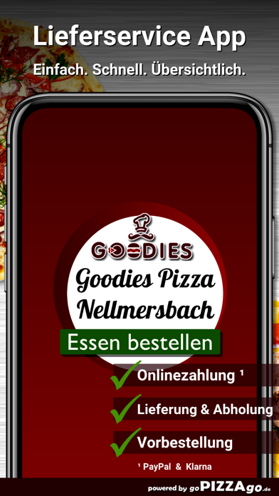 Goodies Pizza Nellmersbach screenshot 1