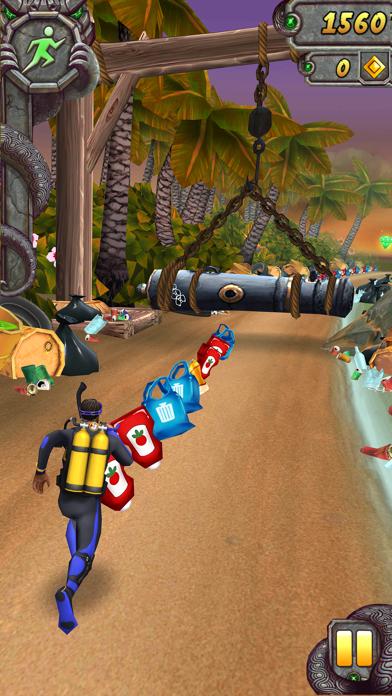 Screenshot from Temple Run 2