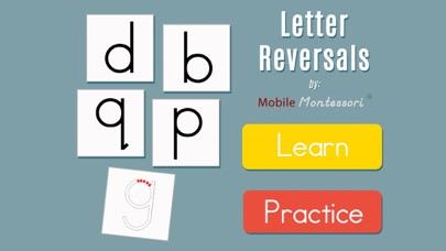 Montessori Letter Reversals screenshot 1