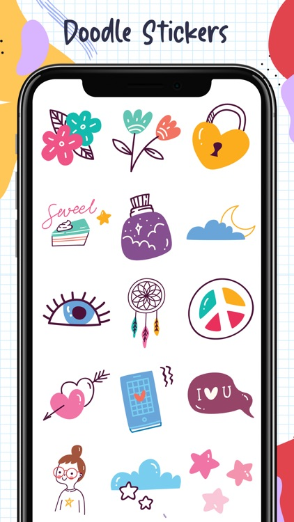 Doodle Stickers Pack screenshot-1