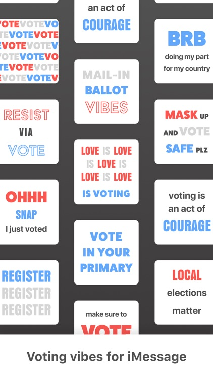 Election Chat Stickers