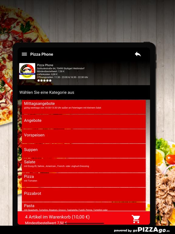 Pizza Phone Weilimdorf screenshot 8
